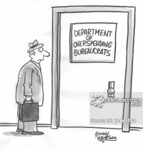 'Department of Overspending Bureaucrats.'